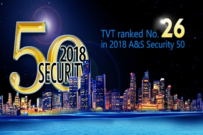TVT Ranked No.26 in 2018 A&S Security 50